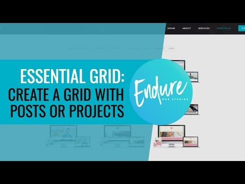 Essential Grid - Create a grid using posts