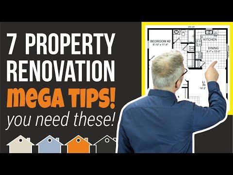 7 Property Renovation / Property Development MEGA TIPS | For The Buy To Let Landlord & Investor