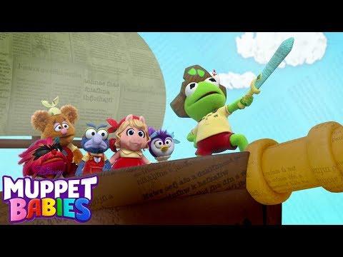 Muppet Pirate Shanty   Music Video   Muppet Babies   Disney Junior