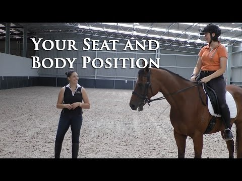 How to Connect your Seat Bones to the Horse (riding position) - Dressage Mastery TV Ep74
