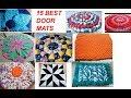 EASY 15 best door mats / table mat making in easy way from cloth - floor mat -area rug - carpet -