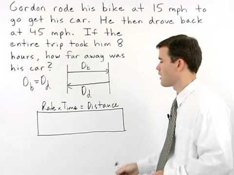Motion Problems | MathHelp.com