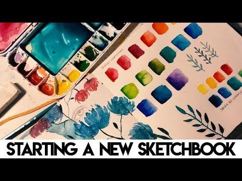 Starting A New Sketchbook