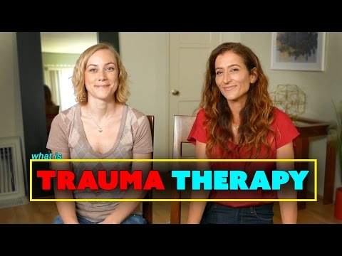 What is TRAUMA THERAPY?  Psychology & mental health treatment with Kati Morton licensed therapist