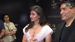 Kareena Kapoor and Kartik Aryan At Blenders Pride Presents Manish Malhotra 's India Tour   NTV Ent