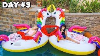 Last To Fall Off The Floaty Wins A MacBook Pro - Challenge | Txunamy
