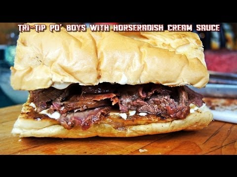 Tri Tip Sandwich With Horseradish Sauce Recipe