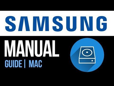 Samsung external hard drive Set Up Guide for Mac 2019
