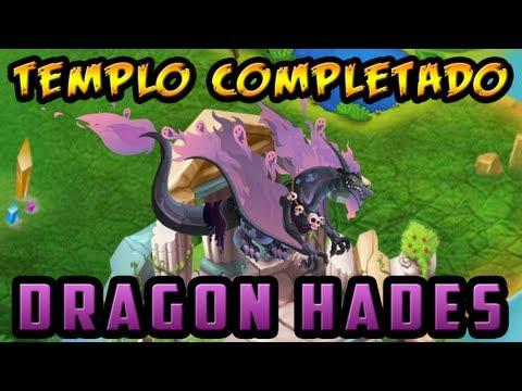 Templo de Hades Completado - Dragón Hades - Dragón City