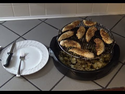 Chicken Strips/Tenderloins from Frozen  - NuWave Oven Recipe