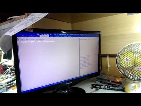 Can,t dual display in BIOS screen