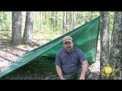 How to Use a Tarp for Shelter for Camping or Survival