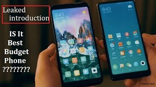 Xiaomi Redmi 5 & Redmi 5 Plus introduction   leaked   is it best in budget?   compare hub