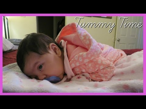 Baby Sleeping On Her Tummy | December 16, 2017