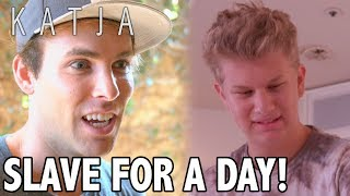Download SLAVE FOR A DAY! | KATJA COMEDY SKETCHES Video