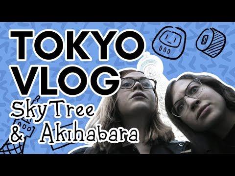 TOKYO VLOG! Tokyo SkyTree views and nighttime Akihabara