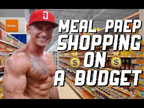 Meal Prep Grocery Shopping On A Budget | Cheap & Healthy | Kroger