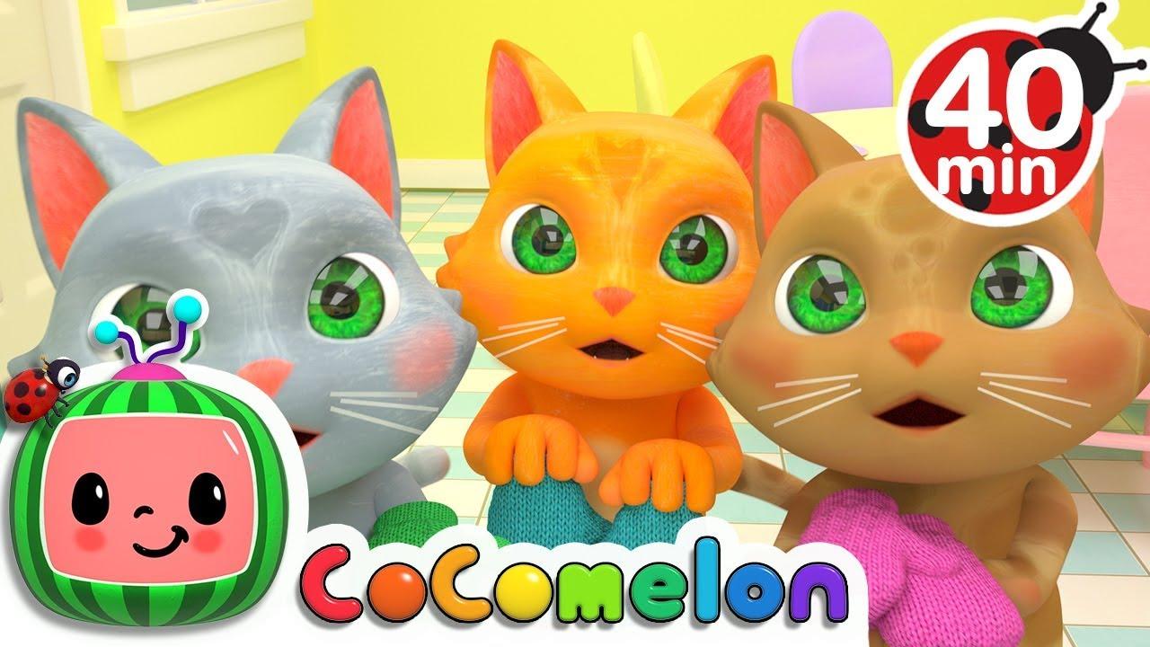 Three Little Kittens + More Nursery Rhymes & Kids Songs - CoComelon