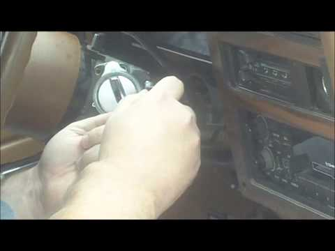 How To Change An Ignition Key Switch