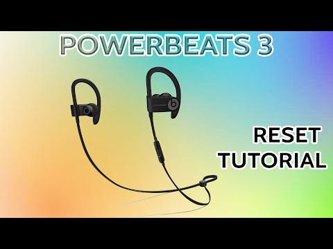Beats By Dre PowerBeats 3 Wireless How To Reset Your Earbuds