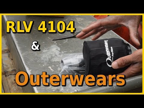 RLV Silencer & Outerwears Pre-filter Unboxing & Install