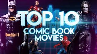 Download Top 10 Comic Book Movies - No Endgame! No Spider-Verse! Video