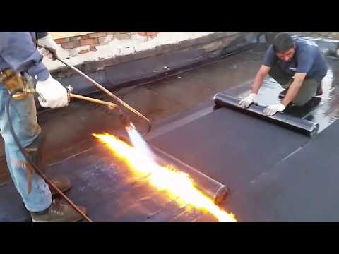 Flat roofing in Toronto