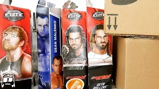 WWE Elites, TMNT, Target Exclusives & MORE TOY HAUL PACKAGES UNBOXED! Fig Hack Fodder BOXPOCALYPSE!!