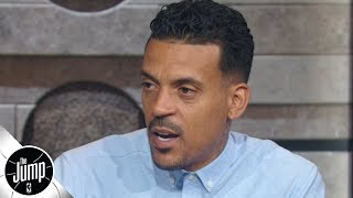 Matt Barnes describes the Clippers' reaction to the Donald Sterling tape | The Jump