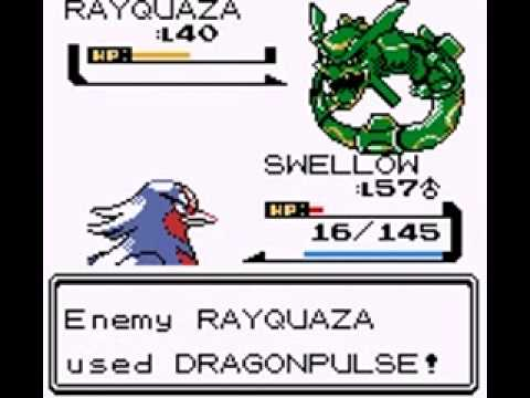 Pokemon Gold Hack 8: Rayquaza and Sky Tower!!