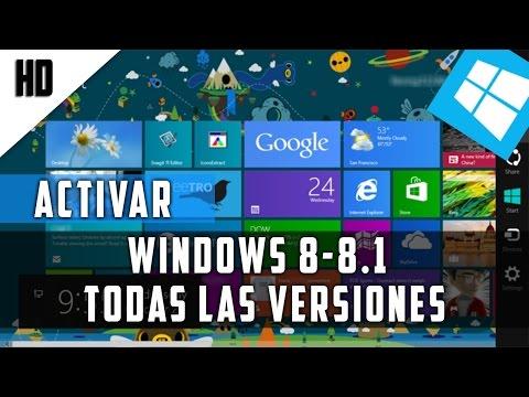 Activar Windows 8 y 8.1 (Permanentemente) Cualquier Versión | Español | 2015 | HD