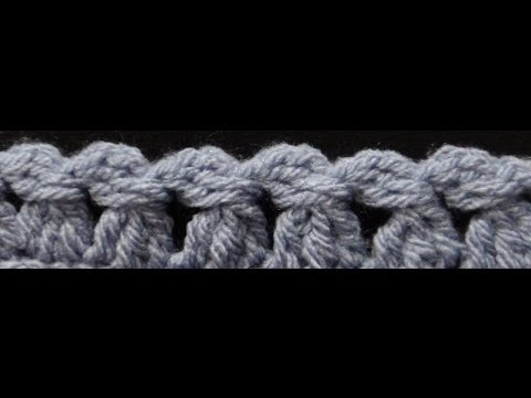 How to Crochet the Edge / Border Stitch Pattern #79│by ThePatternFamily