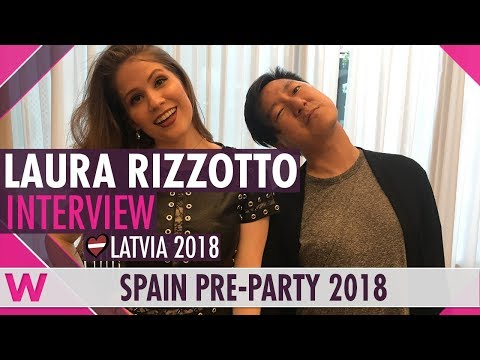 Laura Rizzotto (Latvia 2018) Interview | Eurovision Spain PreParty 2018