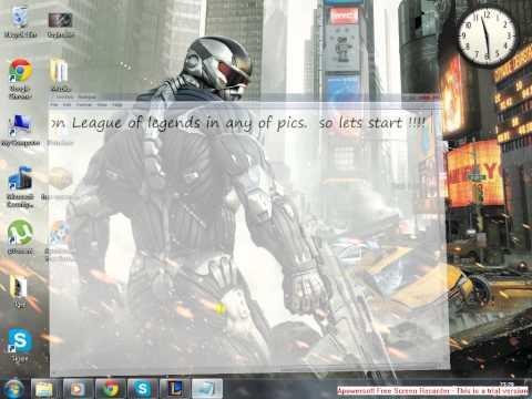 League of legends login screen change