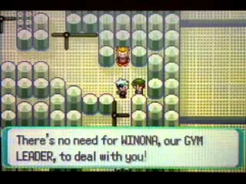 Pokemon Emerald Walkthrough Part 31:Fortree City Gym!