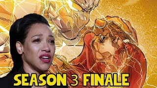 The Flash 3x23 Finale Nerdgasm Recap and Comic Easter Eggs