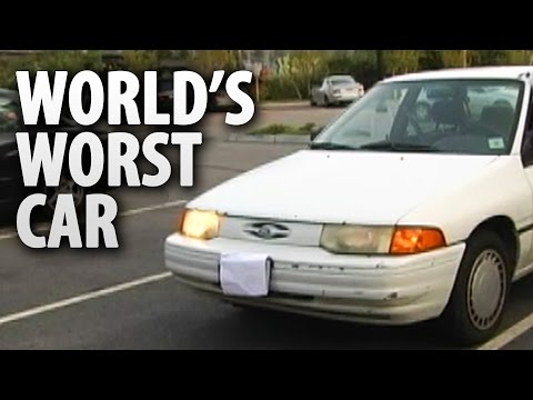 1993 Ford Escort - The World's Worst Car?