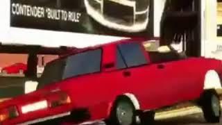 YIGILMIS VAZ 2107 GTA 4.