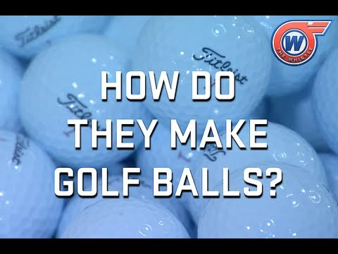 How Do They Make Golf Balls?