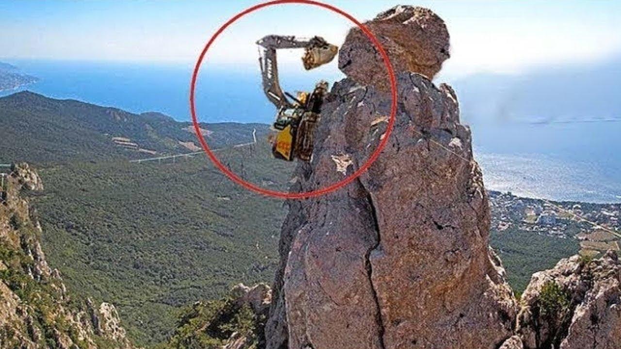 Dangerous Idiots Fastest Excavator Operator Skill - Biggest Crane Heavy Equipment Machines Working