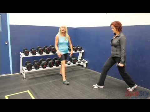 How to strength your legs- lunges