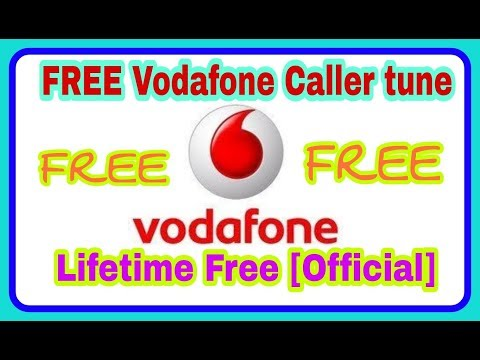 Vodafone Caller tune for Lifetime Free [Official]