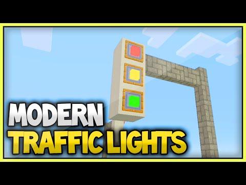 Minecraft Modern Traffic Lights Tutorial (Xbox360/PS3/XboxOne/PS4)