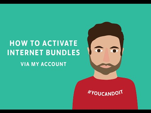 How to activate Virgin Mobile Internet bundles via My Account