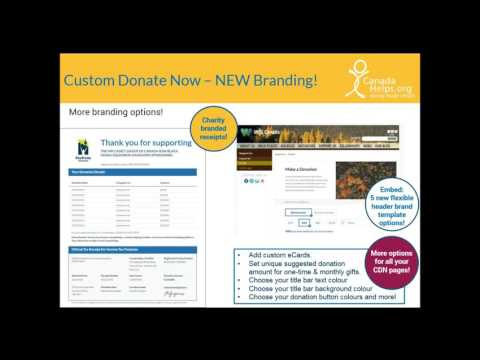 CanadaHelps  Fundraising Solutions for Charities [Webinar]