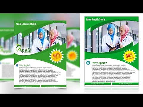 Create a Professional Business Flyer - Photoshop Tutorial