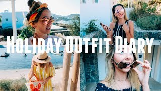 My Holiday Outfit Diary | A Week In Outfits | Zoella