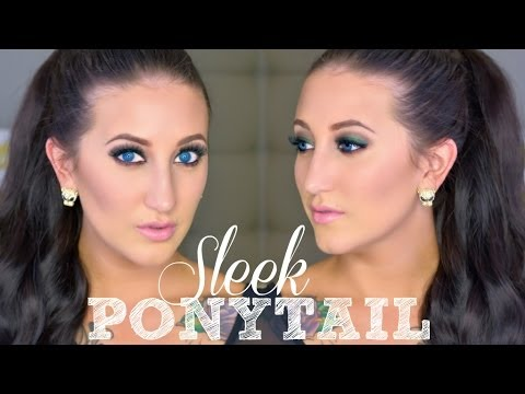 Holiday Hair Series | High Sleek Ponytail for Short Hair Using Extensions!