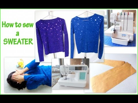 How to Make a Sweater Easy to Sew Step by Step