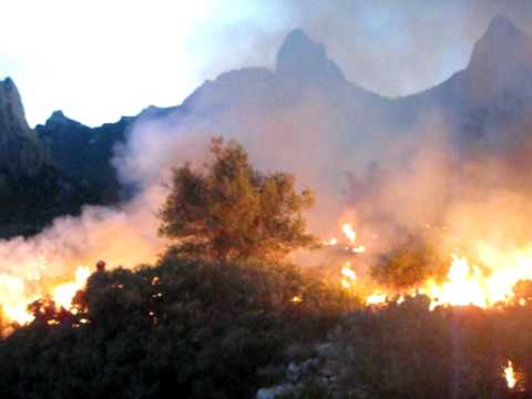 Big Bend National Park: Ignitions in Green Gulch (Oct 2010)